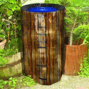 Regenfass Hülle für Regentonne Kunststoff bedruckt