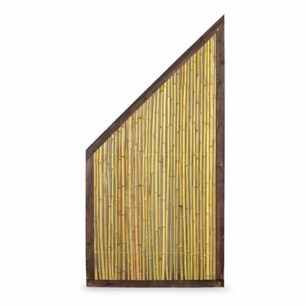Bambuszaun Schrägelement