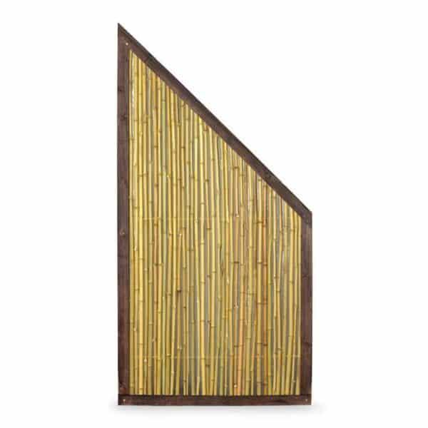 Bambuszaun Schrägelement 2