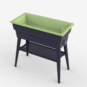 Hochbeet Calipso mit Wasserspeicher Grün