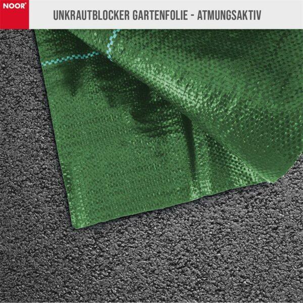Noor Unkrautblocker grün atmungsaktiv