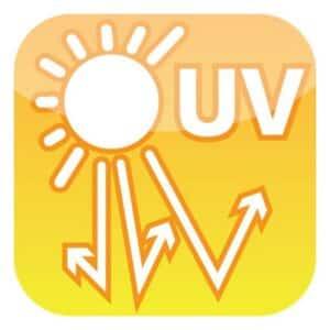 Symbol UV-stabil