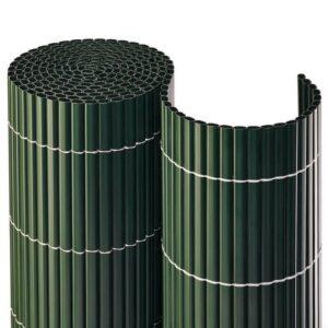 Balkonblende Sichtschutzmatte PVC MADE IN GERMANY grün