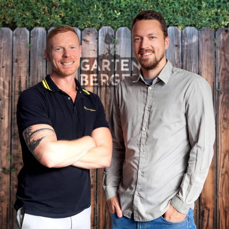 Gartenberger - Geschäftsführer Dieter Galambos und Alex Heuberger